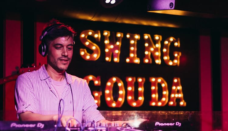 DJ Glenn Martin Swing Gouda uitgaan